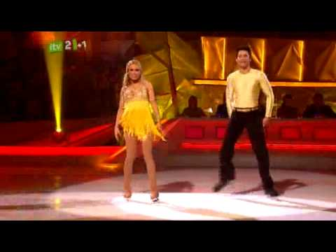 The Saturdays on Dancing On Ice (Melinda Messenger Dancing to Up)