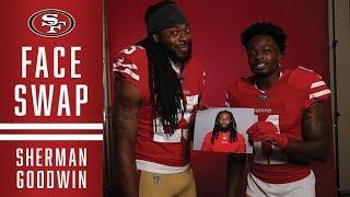 49ers Face Swap: Richard Sherman and Marquise Goodwin Mashup