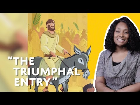 Children's Bible Minute: The Triumphal Entry