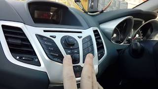 Sostituzione autoradio Ford Fiesta Mk6