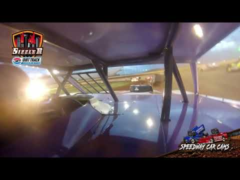 #96 Dalton Pannell - Street Stock - Carolina Sizzler 7-18-21 - In-Car Camera - dirt track racing video image