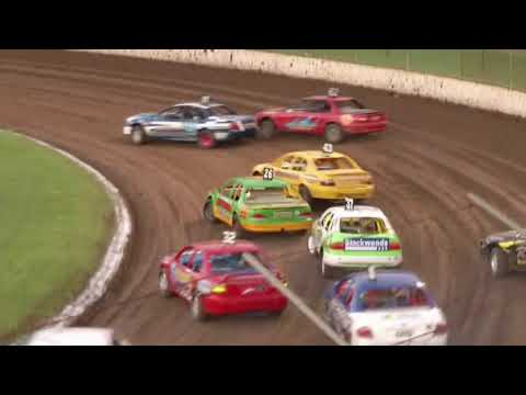 2010/11 National Modified Production Title (Night 1): Lismore Speedway   23rd April 2011 - dirt track racing video image