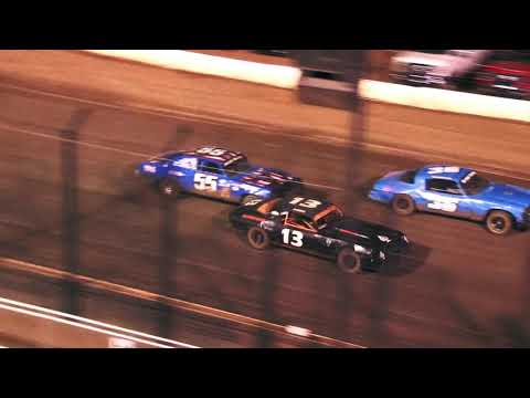 Perris Auto Speedway American Factory Stocks Main Event 7-24-21 - dirt track racing video image
