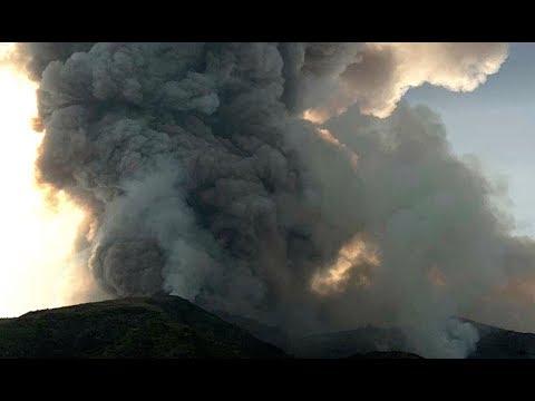 Breaking: Italy Volcano Stromboli Apocalyptic Eruption 1 Dead