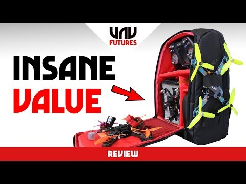 $39 FPV DRONE BACKPACK!!! OMG YES PLEASE - UC3ioIOr3tH6Yz8qzr418R-g