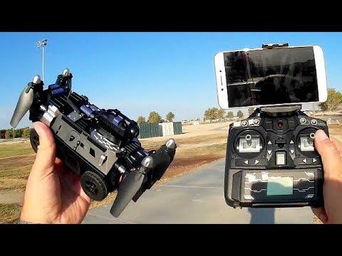 JJRC H40WH FPV Tank Quadcopter Flight Test Review - UC90A4JdsSoFm1Okfu0DHTuQ