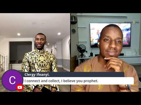 Join Prophet Passion & Bishop Josh Live
