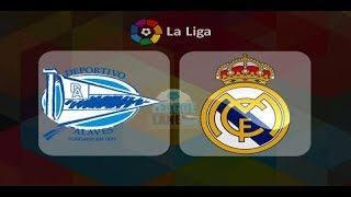 Real Madrid vs Deportivo Alaves live stream