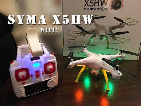 Syma X5HW WiFi FPV Quadcopter RTF Drone unboxing Review part 1 - UCLqx43LM26ksQ_THrEZ7AcQ