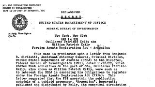 La investigación secreta del FBI al desmesurado Guillermo Patricio Kelly: intereses políticos, mu...
