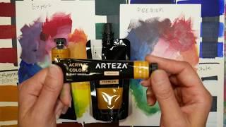 Pro VS. Student Paint // Comparing Arteza