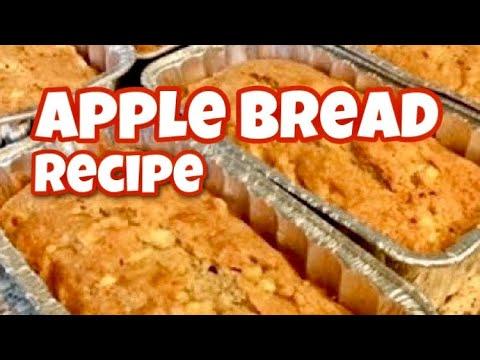 Apple Bread Recipe Simple and Delicious!