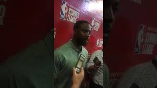 Miles on Ky Bowman and Jacob Evans postgame Vegas Summer League Game 2