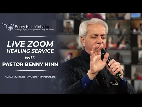 LIVE ZOOM Healing Service with Pastor Benny Hinn!