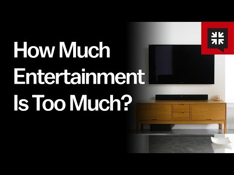 How Much Entertainment Is Too Much? // Ask Pastor John