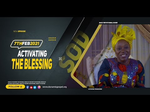 Dr Becky Paul-Enenche - SEEDS OF DESTINY  SUNDAY FEBRUARY 7, 2021