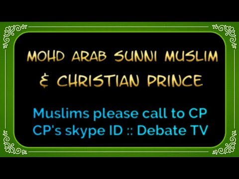 Honest Smart Muslim :: Arab Geo-tech Eng from UK cried & left Islam (CP Live Chat)