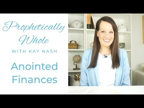 Prophetically Whole: Finances with Jesus ( It's time)