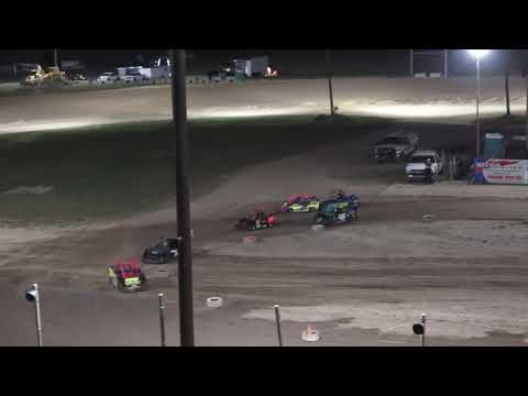 Mini Wedge 6-9 A-Feature at Crystal Motor Speedway, Michigan on 08-07-2021!! - dirt track racing video image