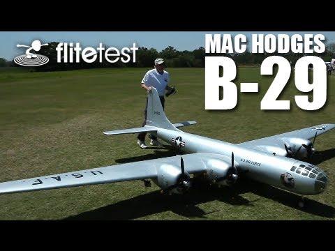 Flite Test - Mac Hodges B-29 - REVIEW - UC9zTuyWffK9ckEz1216noAw