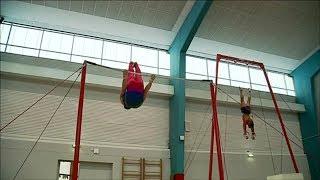 Gymnastique : l'équipe de France masculine est en stage à Montceau-les-Mines