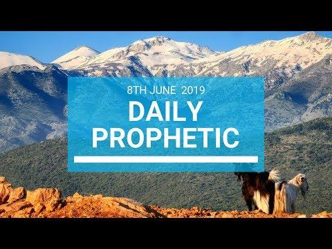 Daily Prophetic 8 June 2019   Word 1