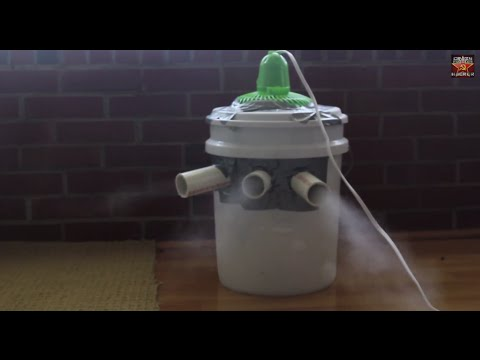 Homemade Air Conditioner  (Use Ice From water for better effect) - crazyrussianhacker