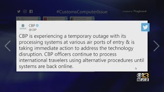 U.S. Customs Experiencing Nationwide Outage, Causing Issues For Airline Passengers