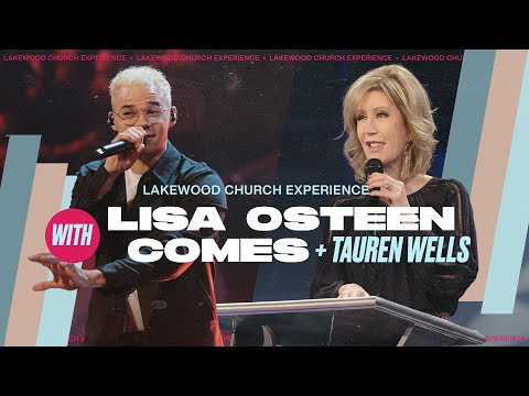 Lisa Osteen Comes  Lakewood Church Sunday Service  11am CST
