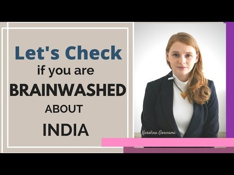Lets check if you are brainwashed about India - Karolina Goswami - UCpelPgePHrkrFYGgtFD8xsQ