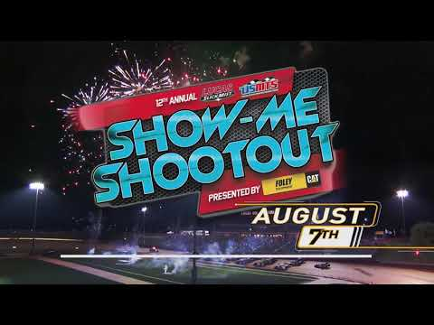 August 7th, 2021:  12th Annual USMTS Slick-Mist Show-Me Shootout Presented by Foley Equipment - dirt track racing video image