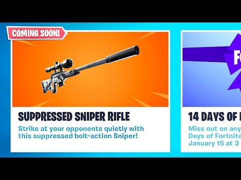 *NEW* Silenced Sniper Coming Soon!! *Pro Fortnite Player* // 1800 Wins // Fortnite Live Gameplay - UC2wKfjlioOCLP4xQMOWNcgg