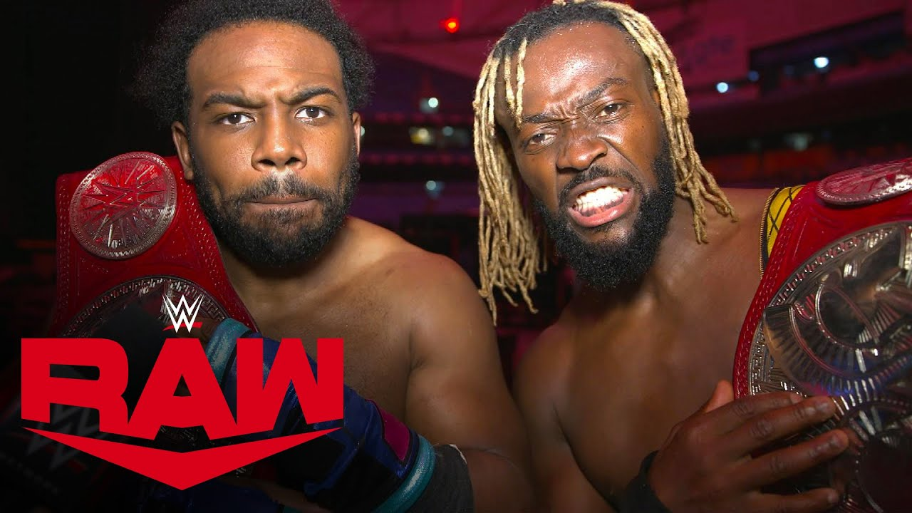 The New Day celebrate their 11th Tag Team Championship win: WWE Network Exclusive, Mar. 15, 2021