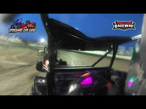 #9 Abigayle Lett - Non Wing Restrictor - 7-30-2021 Port City Raceway - In Car Camera - dirt track racing video image
