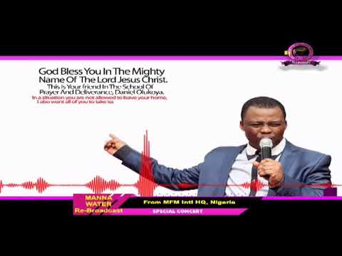 HAUSA MFM SPECIAL MANNA WATER SERVICE WEDNESDAY MAY 27th 2020