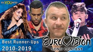 Eurovision Runner-Ups: Top 10  | With Reaction (2010 - 2019)