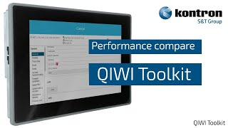 QIWI Software Toolkit Performance Compare