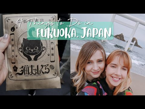 One Day in Fukuoka, Japan ☀️4 Things to Do!