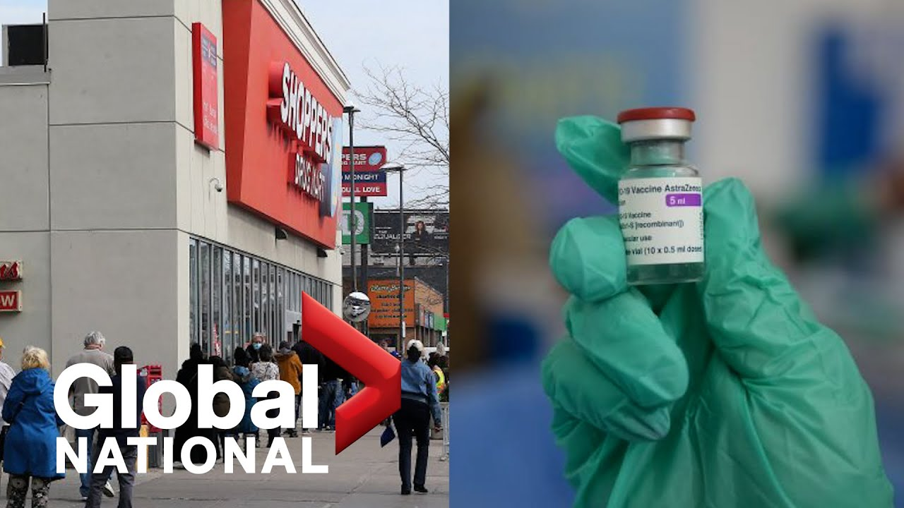 Global National: May 11, 2021 | AstraZeneca COVID-19 vaccine paused in 2 Canadian provinces