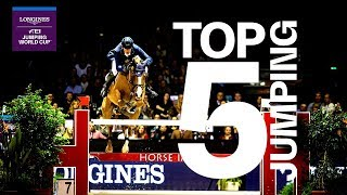 Top 5  Moments of the Longines FEI Jumping World Cup™ season 2018/19