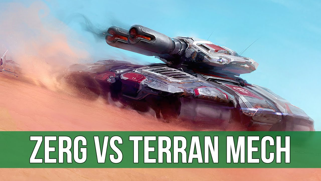 StarCraft 2: Zerg vs Terran Mech! (Legacy of the Void Live