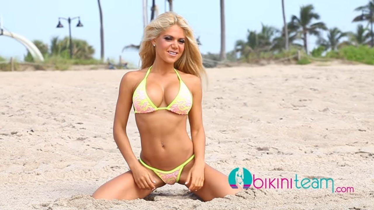 Chelsey Novak Video BikiniTeam.com Model of the Month July 2013