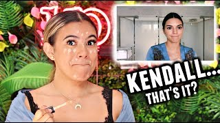 I tried following a Kendall Jenner Makeup Tutorial... Experiencing things😂...