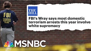 Tucker Carlson's Race 'Hoax' Shredded By FBI Director's Facts | The Beat With Ari Melber | MSNBC