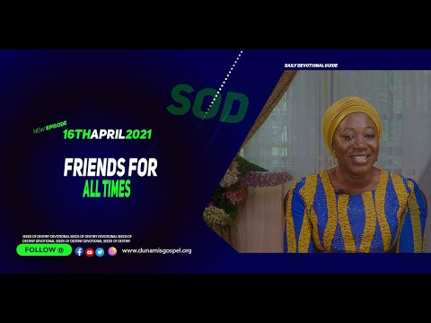 Dr Becky Paul-Enenche - SEEDS OF DESTINY  FRIDAY APRIL 16, 2021