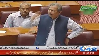 MNA Shafqat Mahmood Views In National Assembly