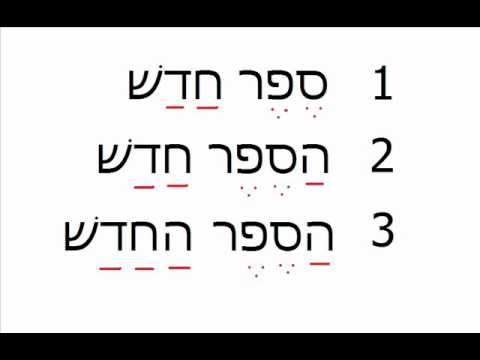 Hebrew with Dawoud lesson 43