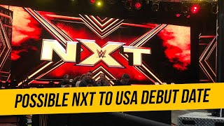Possible NXT To USA Network Debut Date