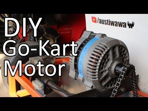Converting a Car Alternator into a Go Kart Motor - UCkURR2CLd5iDc0B11rSkFeg