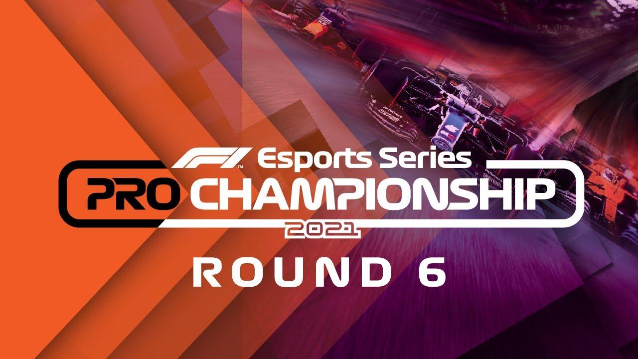 LIVE: 2021 F1 Esports Pro Championship: Round 6